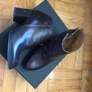HOPE Stockholm heeled booties, sz. 37, mint!
